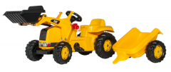 rollyKid CAT with Frontend Loader & Trailer