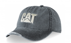 CAT Cap Moscow Grey/Silver Worn