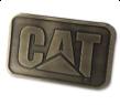 Gold Cat Belt Buckle