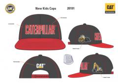 Kids Flat Peak Cap