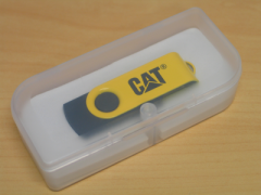 8GB Yellow/Black Flash Drive
