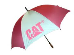 Ladies Pink/White Cat Umbrella CAT1258