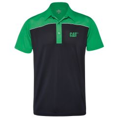 Cat Alba Dri-Tec Ladies Polo Navy/Green