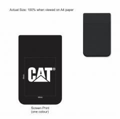 CAT LYCRA PHONE WALLET