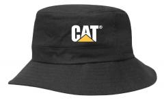 Kids Black Twill Bucket Hat w/Toggle Bucket Hats