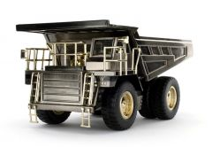 CAT 1:50 777D Silver Off Highway Truck Norscot Diecast