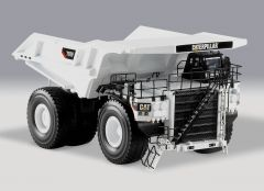 CAT 1:50 White LE Off Highway Truck Norscot Diecast