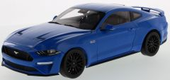 2019 Ford Mustang Kona Blue 1:18 scale