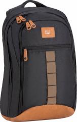 CAT Urban Active Glass Backpack Black/Tan