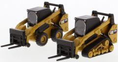 CAT 1:64 272D2 Steer & 297D2 Track Loader