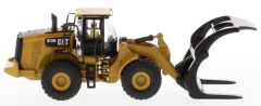 Cat 1:87 972M Wheel Loader with Log Forks High Line HO Series