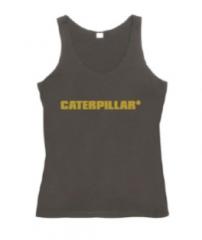 Caterpillar Metallic Singlet
