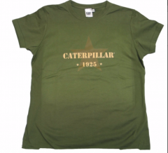 CAT Ladies Military Tee