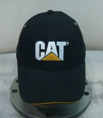 CAT Black Gold Sandwich Peak Cap
