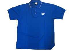 Cat Cool Dry polo- Royal Blue