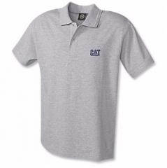CAT Grey Polo Shirt