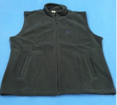 Ladies Microvest. Navy