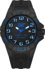 CAT Special Ops 3HD Watch Black/Blue with Silicone Strap
