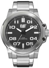 CAT Chicago 3HD Watch Black/Steel with Stainless Steel Strap