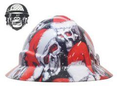 Santa Skulls - Cool Hard Hats