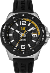 CAT Shockmaster Evo 3HD Watch Black with Silicone Strap