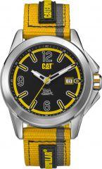 CAT Twist up 3HD Watch Black/Yellow with Nylon Strap