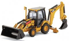 CAT 1:50 420E Backhoe Loader Norscot Diecast