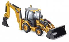 CAT 1:50 432E Side Shift Backhoe Norscot Diecast