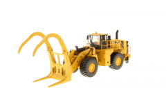 Cat 1:50 988K Wheel Loader with grapple High Line Series