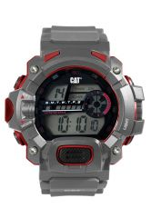 CAT Digital Grey/Red Watch