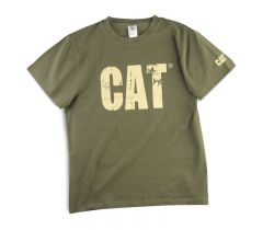 CAT Worn Out Tee- Kids