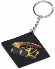 PVC 3D Key Tag CAT797F Mining Truck