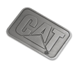 Silver Cat Belt Buckle