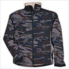 CAT Camo Softshell Jacket- Large