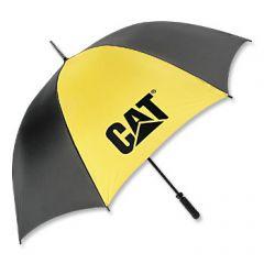 Black and Gold Golf Umbrella