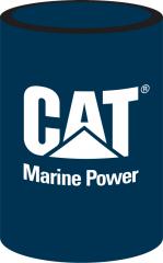 CAT Marine Power Can Cooler Navy Blue