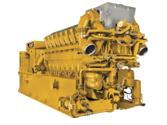 Cat 1:25 CG260-16 Gas Generator Set OLD NORSCOT ITEM