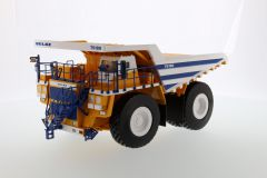 BELAZ 75180 1:50 Dump Truck White Body