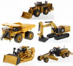 Cat Elite Series 1:125 scale Assortment 10-piece assortment pack