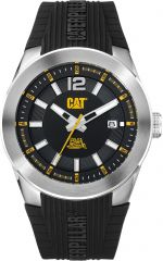 CAT T7 3HD Watch Date with Black Silicone Strap