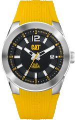 CAT T7 3HD Watch Date with Yellow Silicone Strap