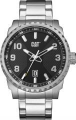 CAT Podium 3HD Watch Black with Stainless Steel Strap