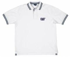 Cat Fashion Polo - White/Navy