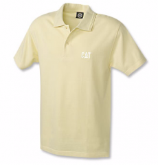 CAT Yellow Polo
