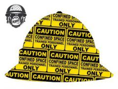 CONFINED SPACE - Cool Hard Hats