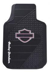 Floor Mat - Pink Factory Bar & Shield