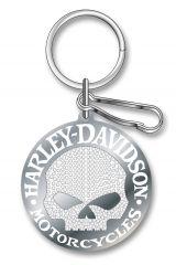 Key Chain Enamel - Harley® Skull