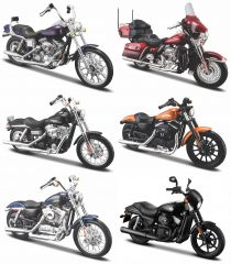 1:18 Harley-Davidson Series 34 Assort. 12p Assortment 12 pieces
