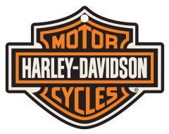 2-Pack Air Fresheners - Harley-Davidson Bar & Shield Die Cut dark ice scent