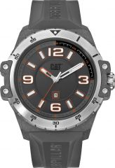 CAT Nomad Carbon 3HD Watch Grey Face with Silicone Strap